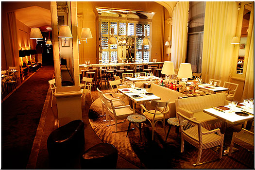 le bon restaurant de philippe starck. Black Bedroom Furniture Sets. Home Design Ideas