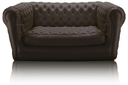 Blofield un chesterfield d 39 ext rieur for Canape gonflable exterieur