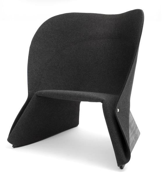 le design su dois toujours coat le fauteuil en feutre. Black Bedroom Furniture Sets. Home Design Ideas