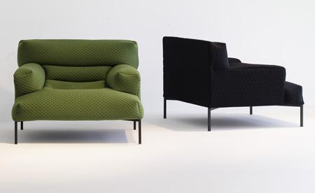 un fauteuil design et confortable. Black Bedroom Furniture Sets. Home Design Ideas