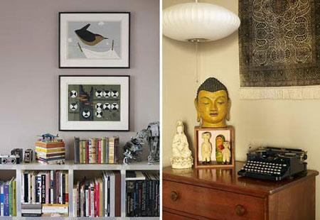 Id e d co petit appartement vintage et r ussi - Idee deco petit appartement ...