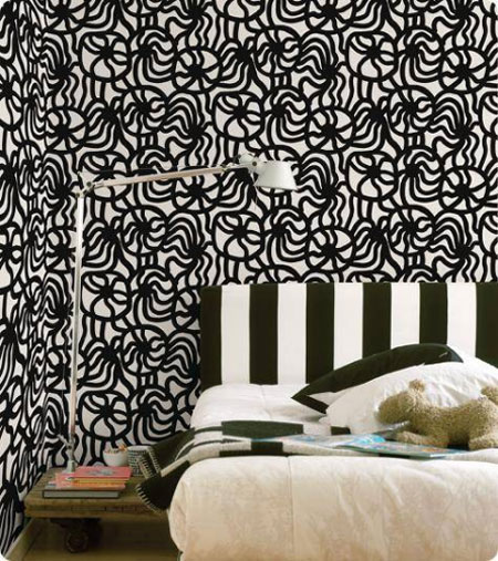 marimekko papiers peints d co design. Black Bedroom Furniture Sets. Home Design Ideas