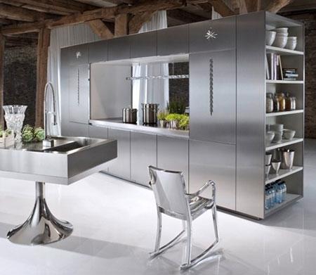 cuisines philippe starck. Black Bedroom Furniture Sets. Home Design Ideas