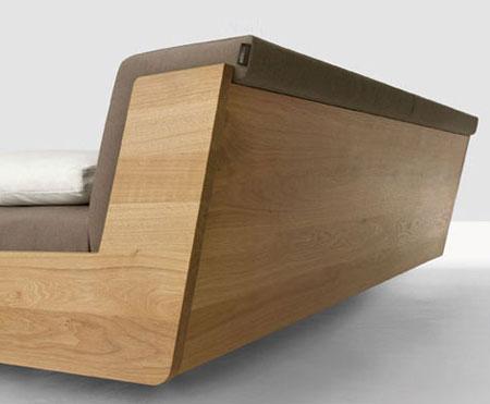 Lit design en bois...