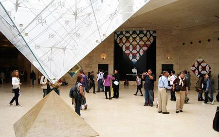 Premier Apple Store Fran Ais Au Carrousel Du Louvre