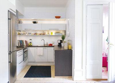 Id es d co pour petite cuisine - Cuisine design petit espace ...