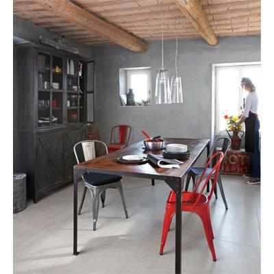 chaise tolix pour ampm. Black Bedroom Furniture Sets. Home Design Ideas
