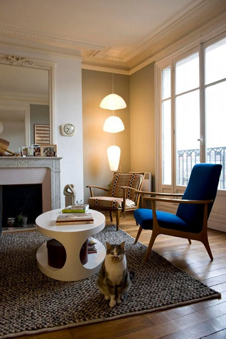 Id es d co int rieur parisien - Interieur appartement parisien ...