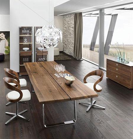 mobilier en bois design team 7. Black Bedroom Furniture Sets. Home Design Ideas