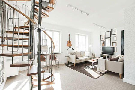 Maison su doise design et cosy - Deco maison suedoise ...