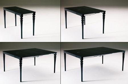 Table console bartolini - Table basse qui se transforme en table haute ...