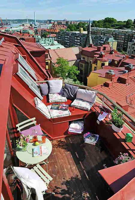 Am nager un petit appartement - Idee deco terrasse appartement ...