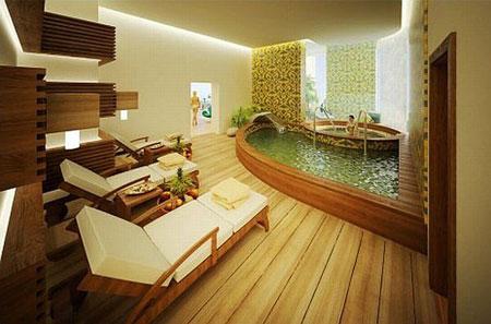 Salles de bains de luxe...