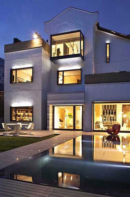 la villa cube. Black Bedroom Furniture Sets. Home Design Ideas