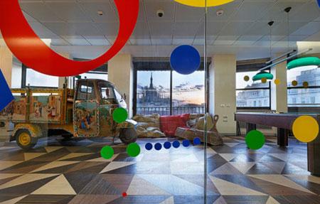 Les nouveaux bureaux de google à tel aviv amazing