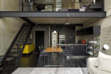 Loft design industriel