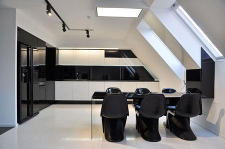 Maison ultra design for Interieur vaisseau spatial