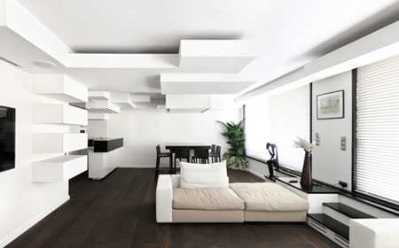 appartement design par l 39 architecte pascal grasso. Black Bedroom Furniture Sets. Home Design Ideas
