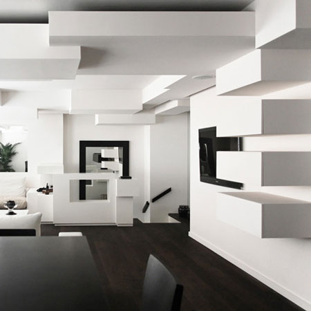 Appartement design par l 39 architecte pascal grasso for Deco appartement design