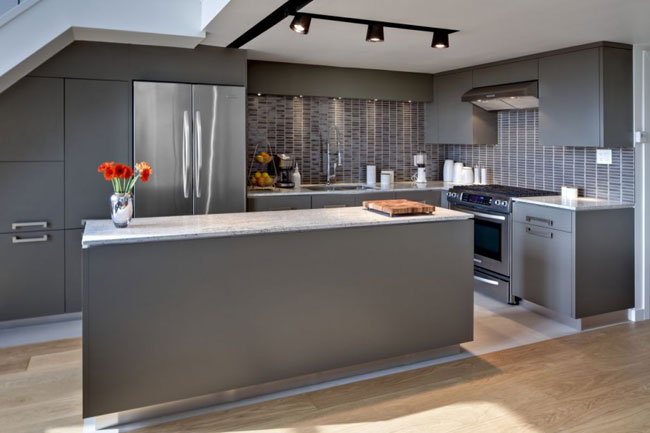Style Kitchen Simple Futuristic BEAUPARLANT DESIGN 8