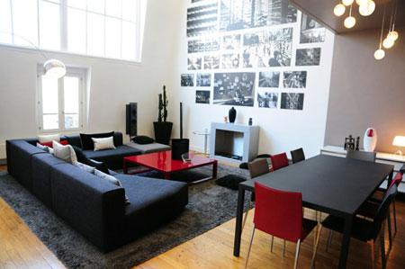 appartement design par tony lem le. Black Bedroom Furniture Sets. Home Design Ideas