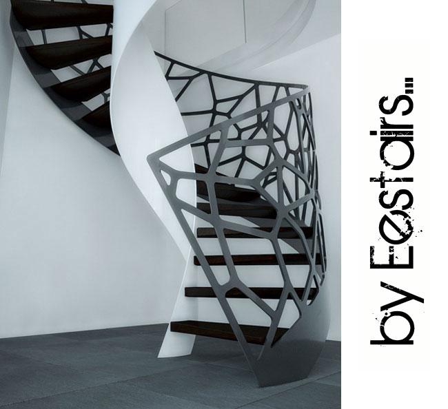 escaliers design modernes style accueil design et mobilier. Black Bedroom Furniture Sets. Home Design Ideas