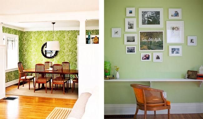 le vert couleur phare. Black Bedroom Furniture Sets. Home Design Ideas