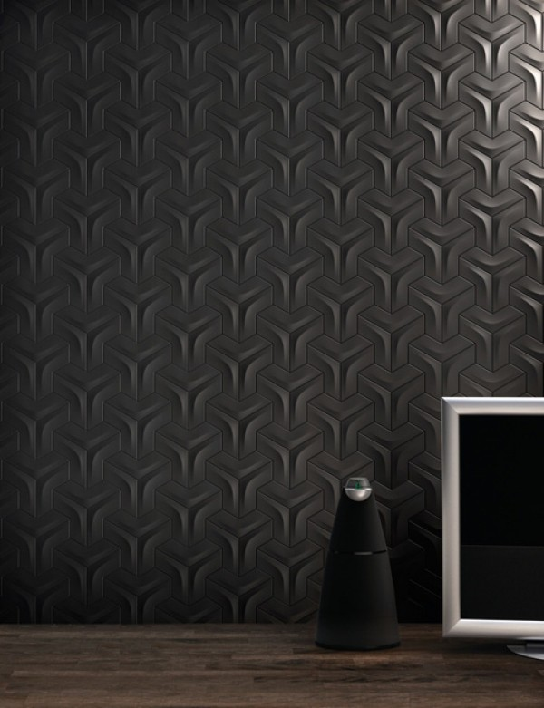 carrelage mural design et geometrique. Black Bedroom Furniture Sets. Home Design Ideas