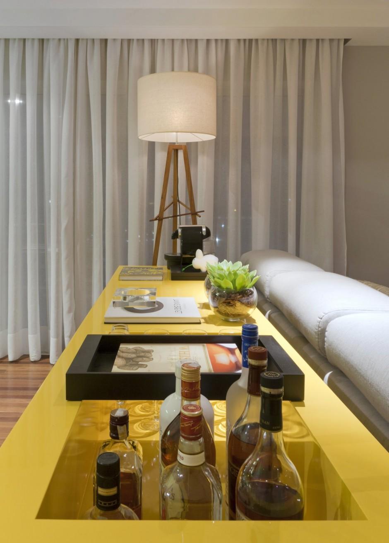 Appartement d co r tro et futuriste la fois - Decoratie appartement design ...
