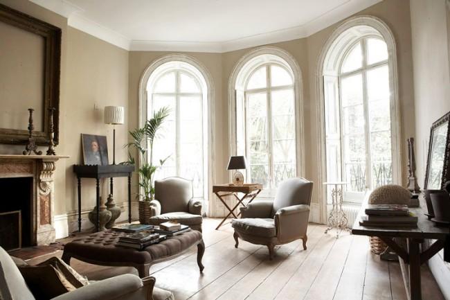 Decoration l 39 ancienne - Deco salon ancien et moderne ...