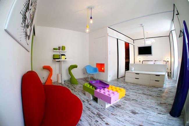 appartement design louer. Black Bedroom Furniture Sets. Home Design Ideas