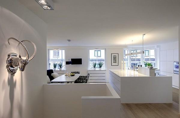 appartement design scandinave. Black Bedroom Furniture Sets. Home Design Ideas