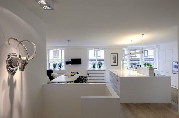 Appartement design scandinave for Apartment name design