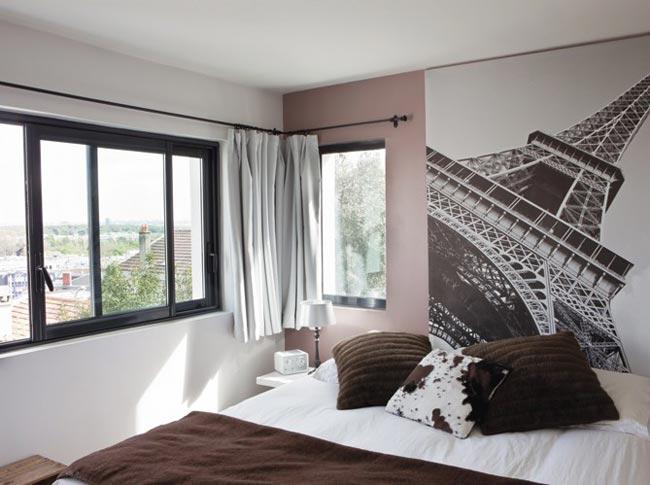 Appartement violet - Deco petite chambre ...