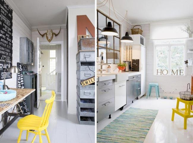 Comment decorer une cuisine blanche - Decorer cuisine toute blanche ...