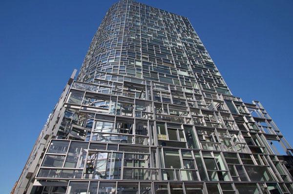 Immeuble Penthouse de luxe