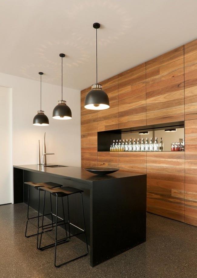 Villa design piscine et vue sur la mer - Table de cuisine design ...