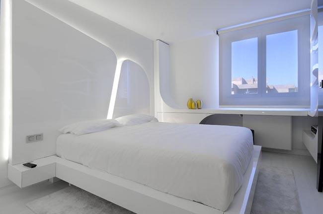 Appartement Design Tout Blanc Avec Un Peu De Noir Quand M Me