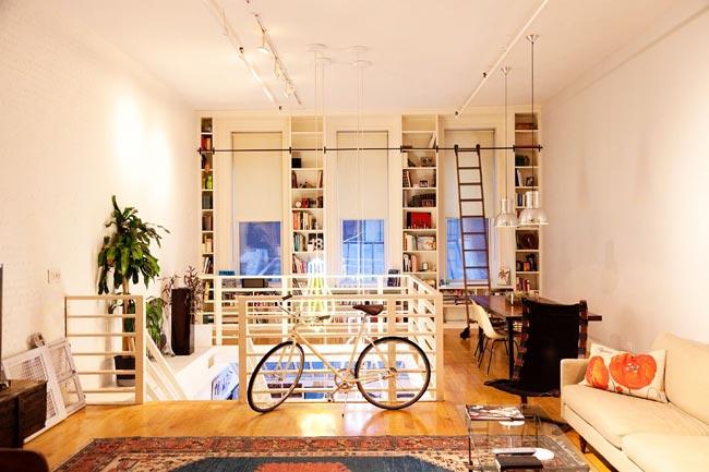 Appartement atelier de designers for Appartement atelier