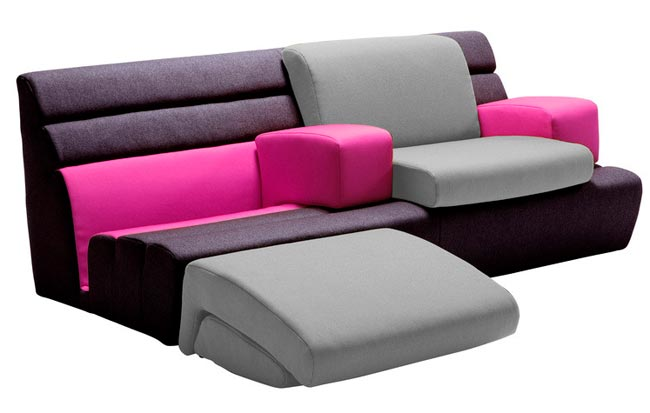 canape design compo 39 sit par matali crasset. Black Bedroom Furniture Sets. Home Design Ideas