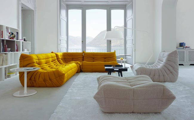 Salon ligne roset top large preview of d model of sofa for Salon togo ligne roset