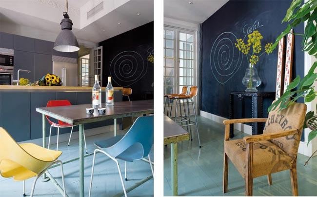 D coration bleue - Deco interieur bleu ...