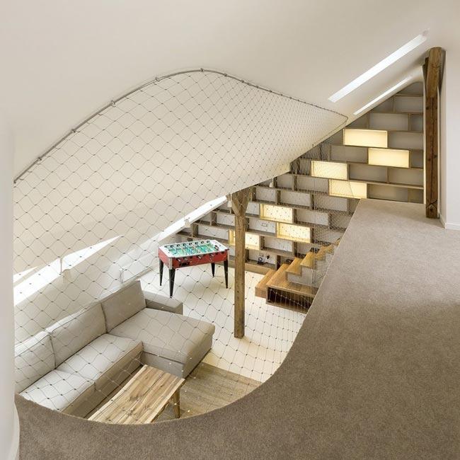 Loft Design Mezzanine