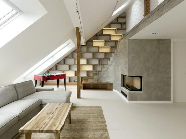 Amenagement d un loft design