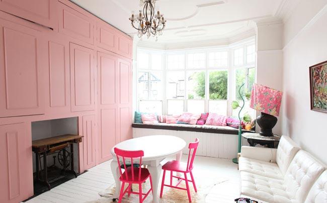 de la couleur sur les murs. Black Bedroom Furniture Sets. Home Design Ideas