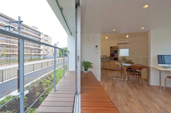 Maison design atypique de 55m2 baie vitree