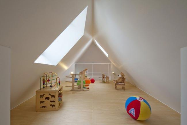 Maison design atypique de 55m2 salle de jeux