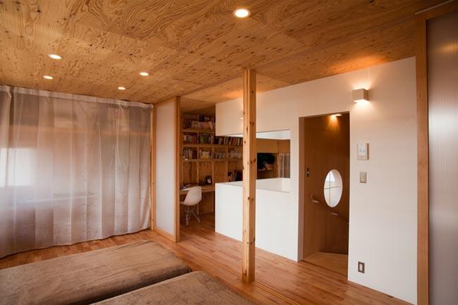 maison design en bois tokyo. Black Bedroom Furniture Sets. Home Design Ideas