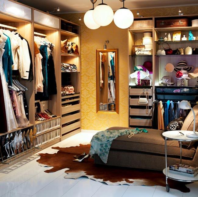 am nager un dressing. Black Bedroom Furniture Sets. Home Design Ideas