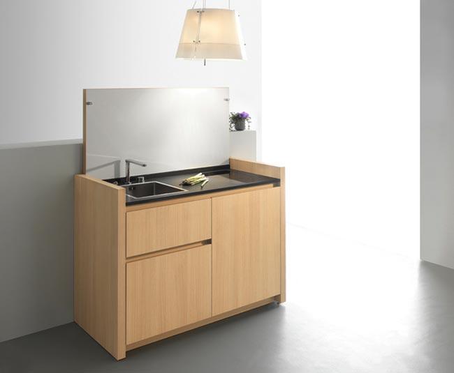cuisine compacte design kitchoo. Black Bedroom Furniture Sets. Home Design Ideas